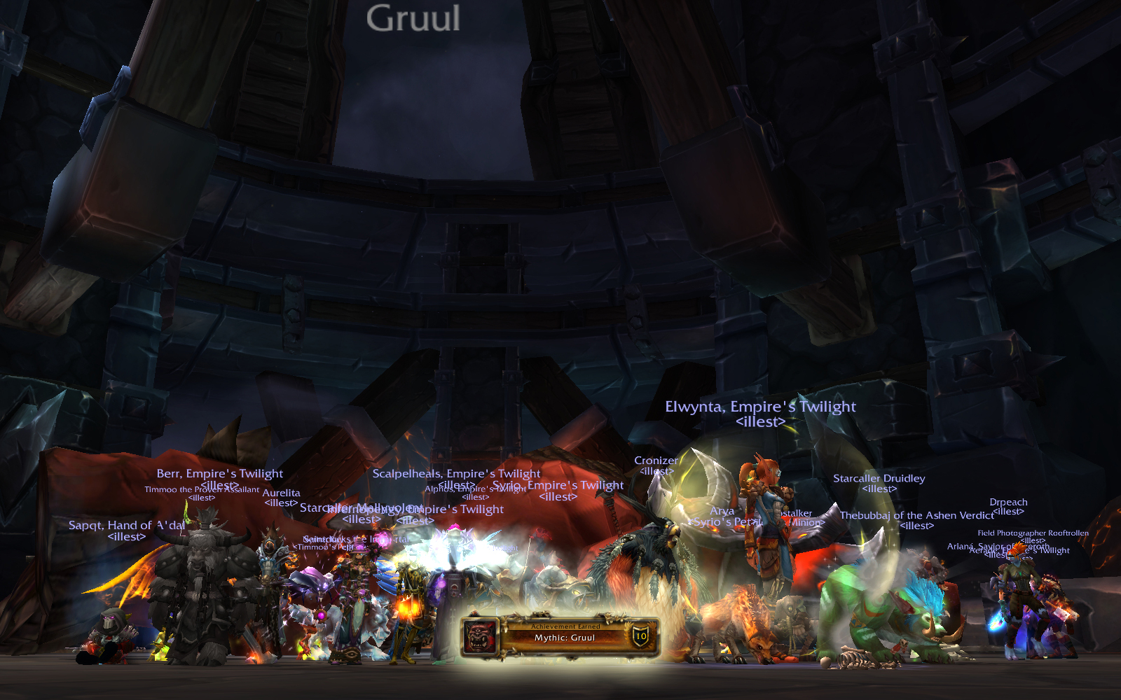 Mythic Blackrock Foundry: Gruul