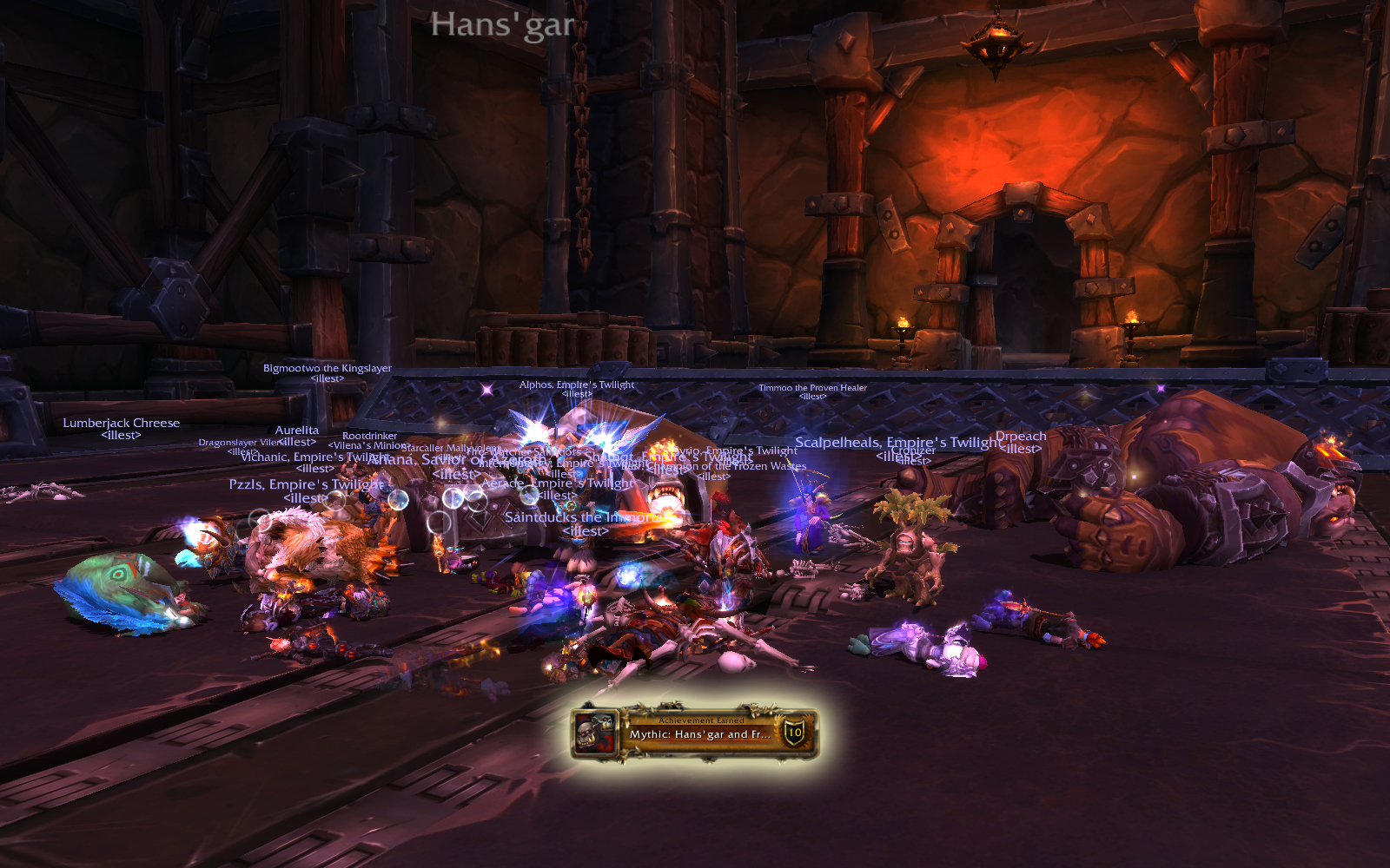 Mythic Blackrock Foundry: Hans'gar and Franzok