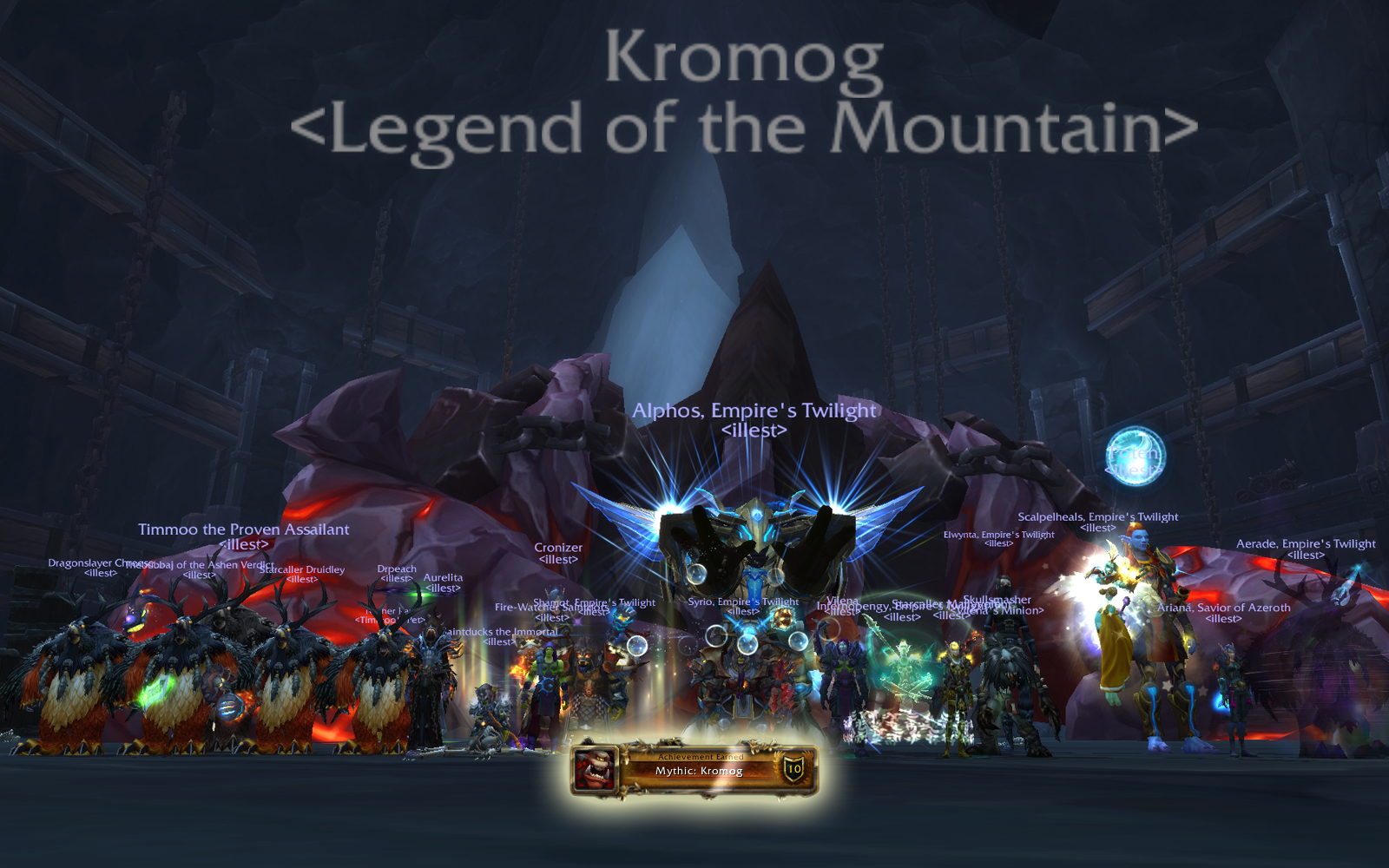 Mythic Blackrock Foundry: Kromog