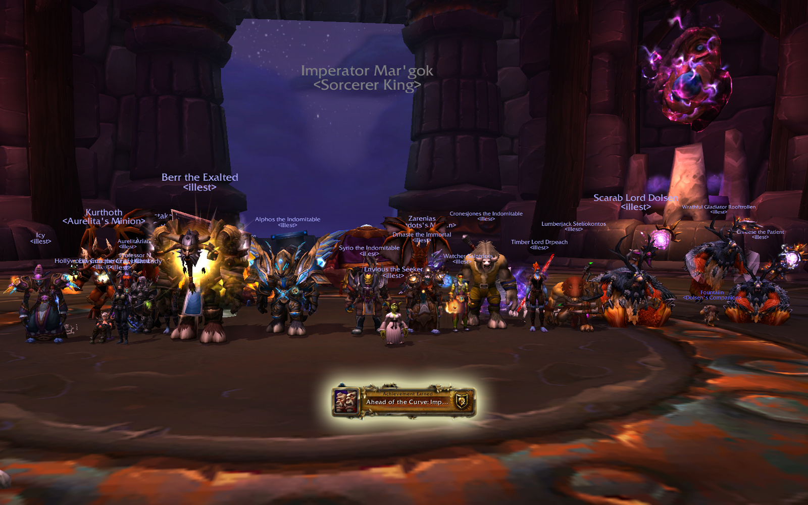 Heroic Highmaul: Imperator Mar'gok