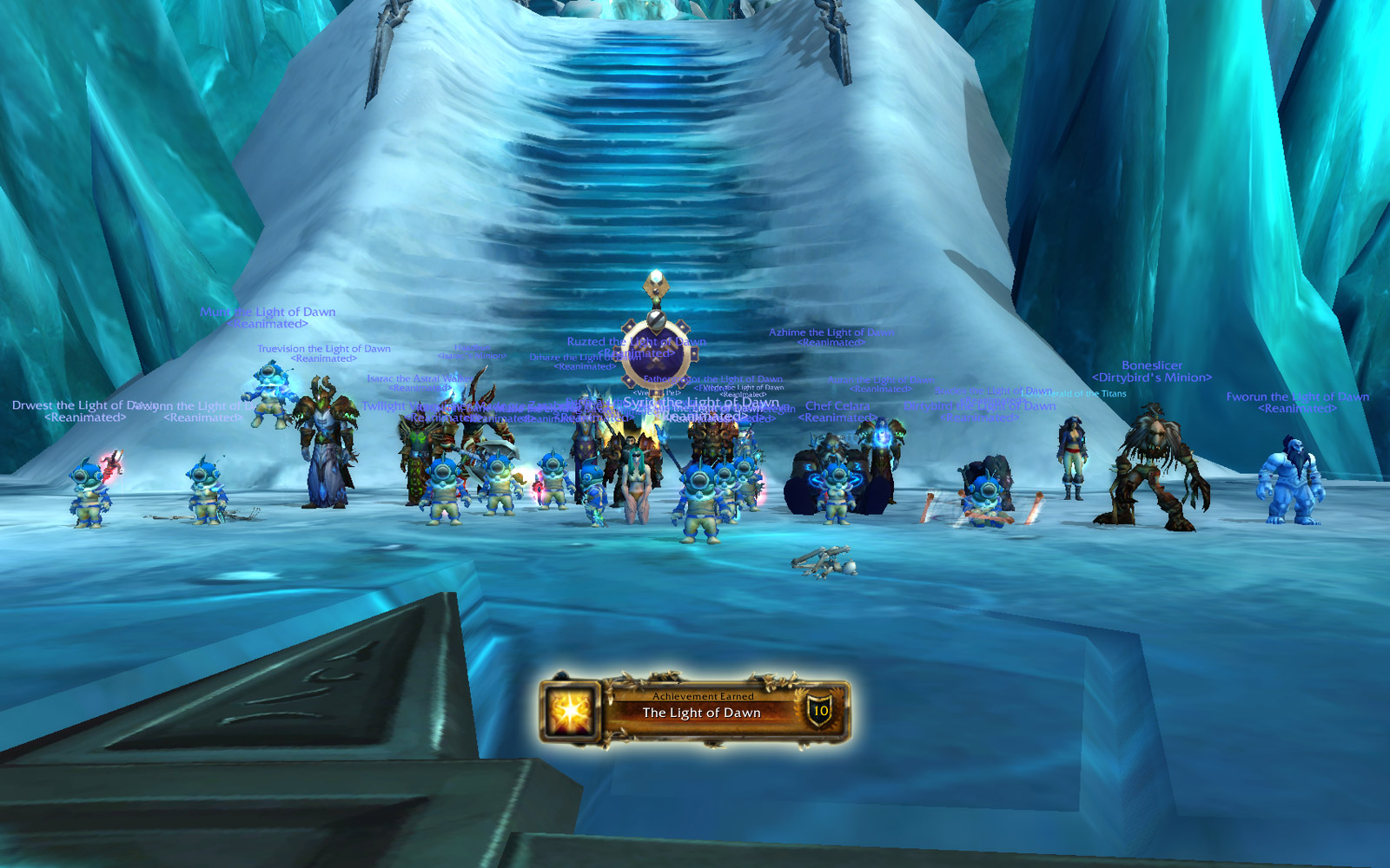 Heroic Icecrown Citadel: The Lich King