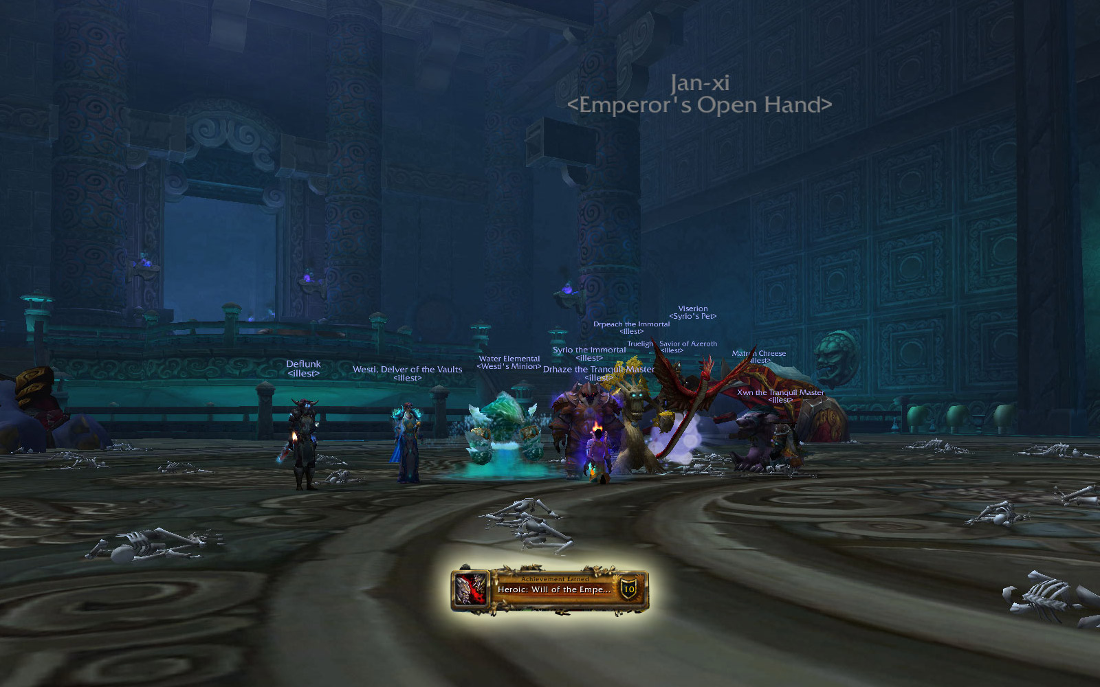 Heroic Mogu'shan Vaults: Will of the Emperor