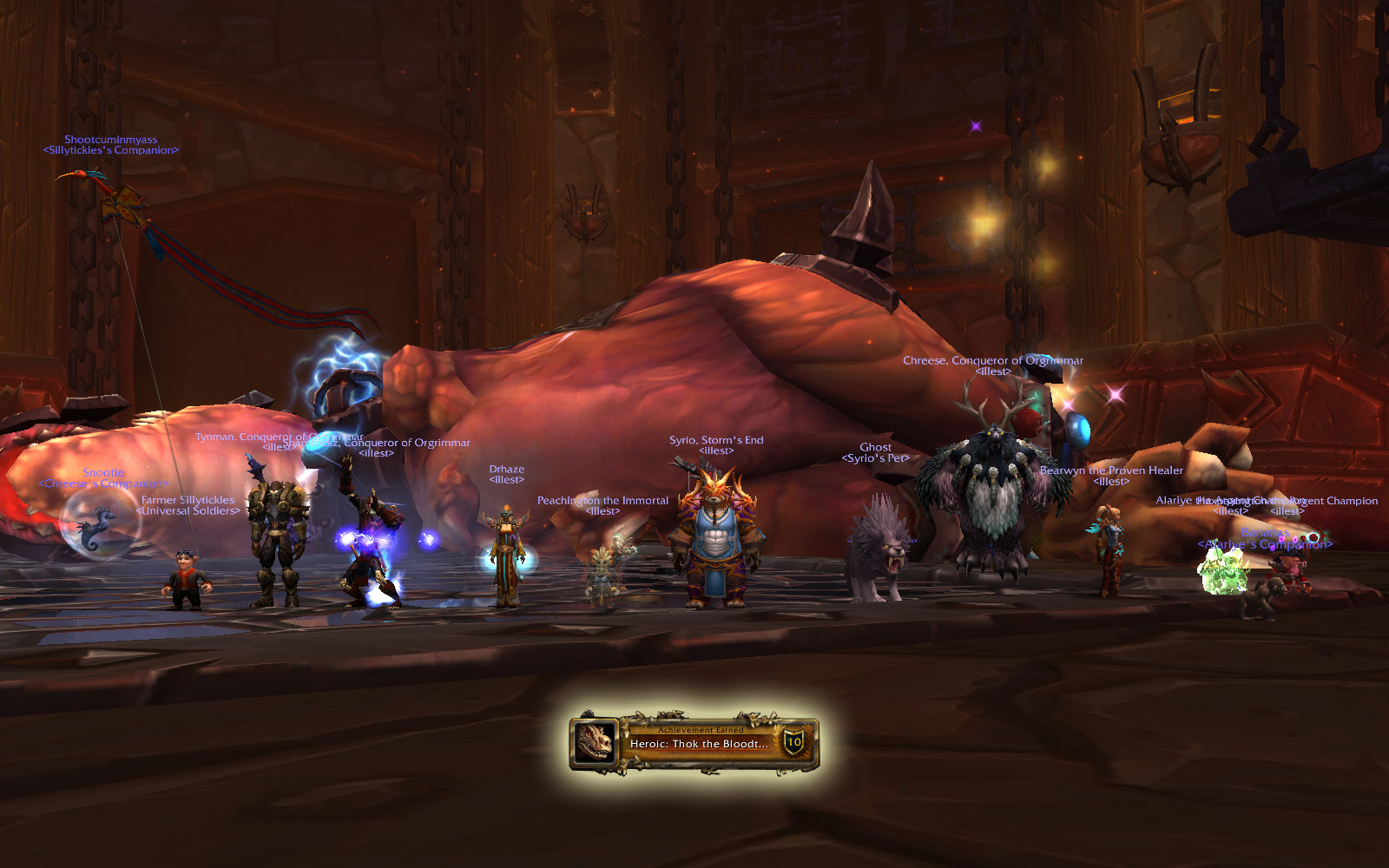 Heroic Siege of Orgrimmar: Thok the Bloodthirsty