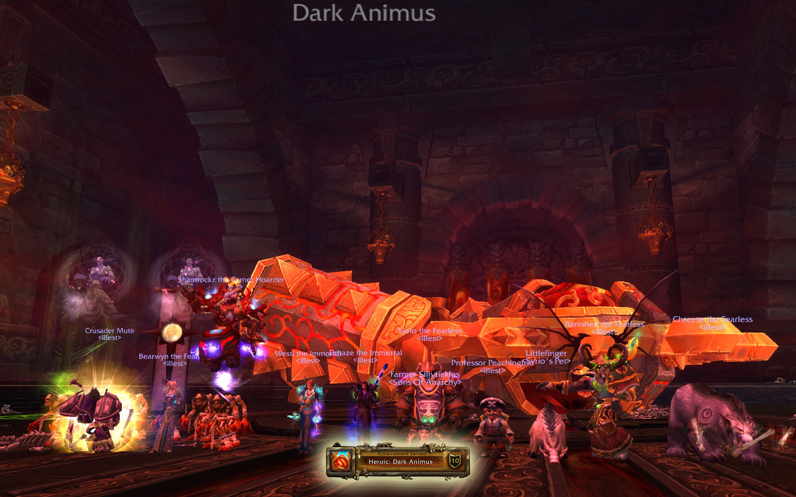 Heroic Throne of Thunder: Dark Animus