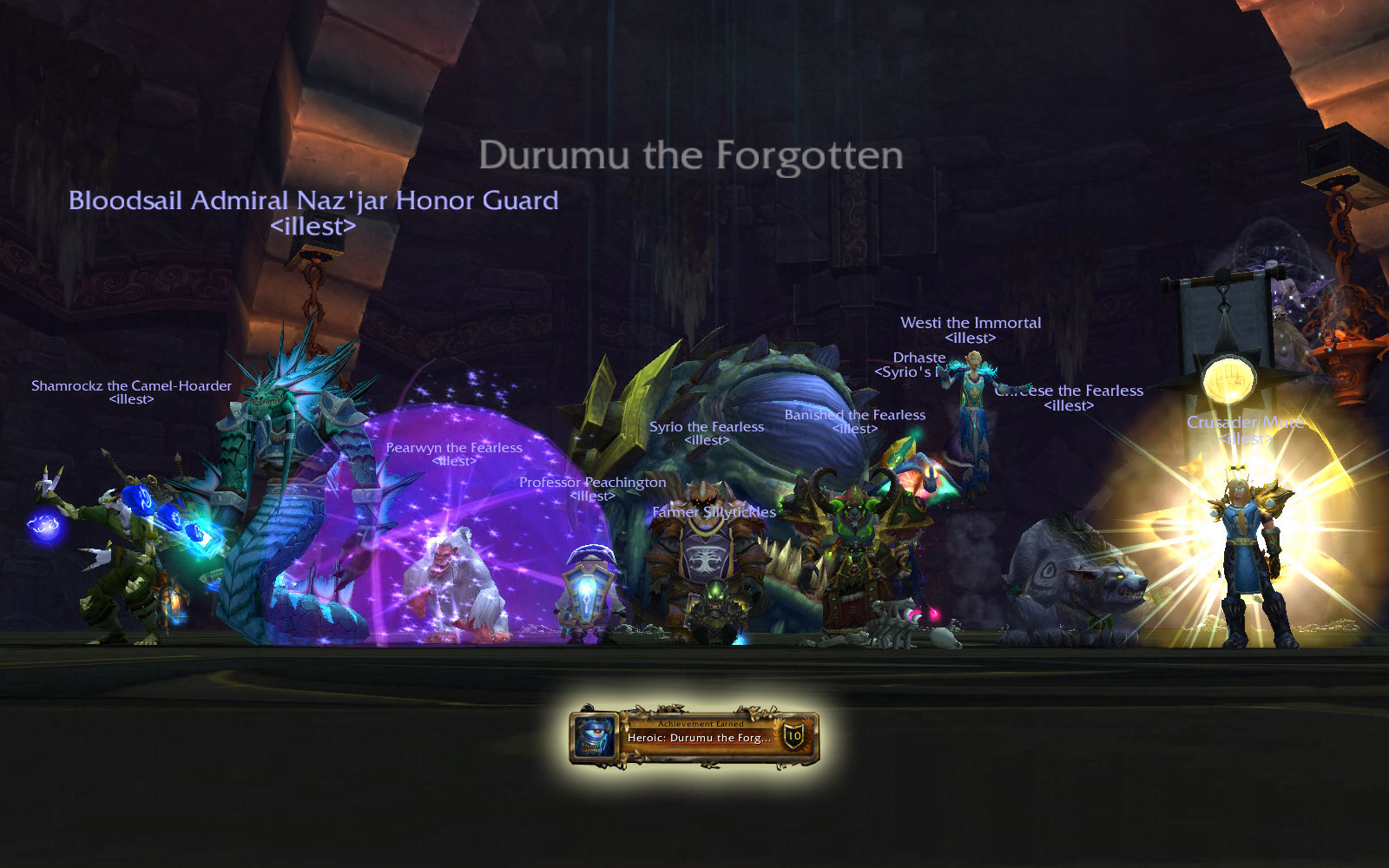 Heroic Throne of Thunder: Durumu the Forgotten